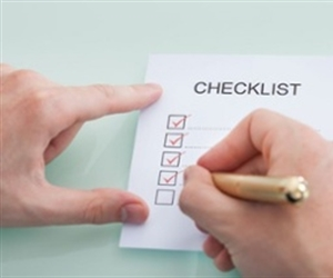 What should be in a Rental Inspection Checklist?