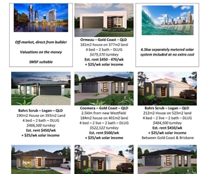 RealRenta Weekly Premier Land Development Alert- South East QLD