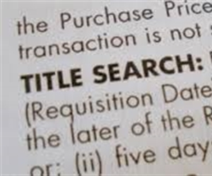 What you should know about Title Searches